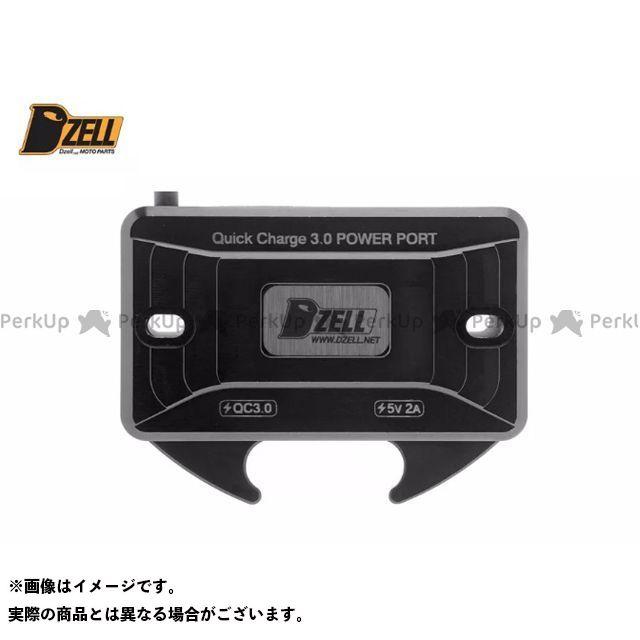 DZELL その他電装パーツ Dzell USB Twoポート Y/B ブラック ディーゼル
