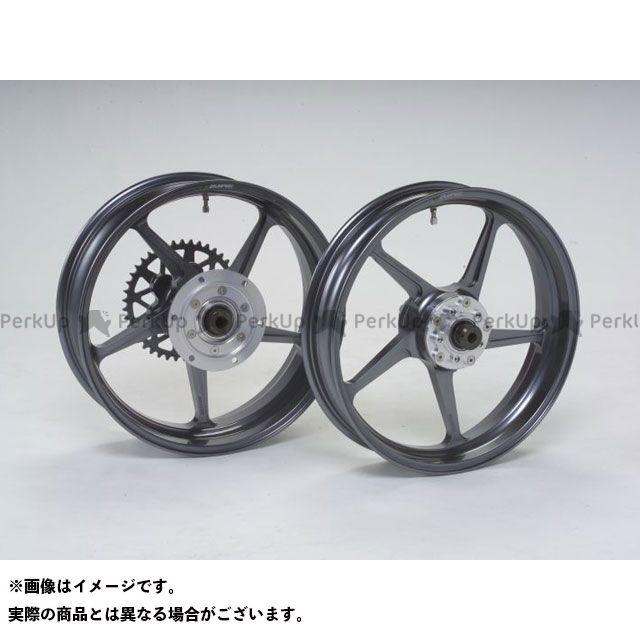 GALESPEED GSX-R1000 GSX-R600 ホイール本体 TYPE-C フロント(350-17) ガンメタリック