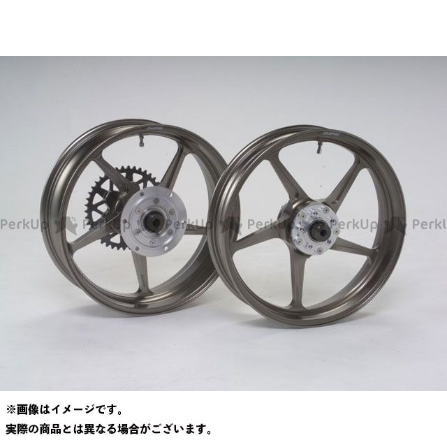 GALESPEED ZRX1200R ホイール本体 TYPE-C リア(550-17) クォーツ仕様 ブロンズ