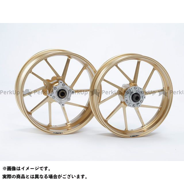 GALESPEED ニンジャ900 ホイール本体 TYPE-R リア(500-17) クォーツ仕様 ゴールド