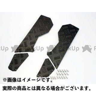 【無料雑誌付き】KITACO ビーウィズ125 ステップ ステップボード カラー:ブラック キタコ
