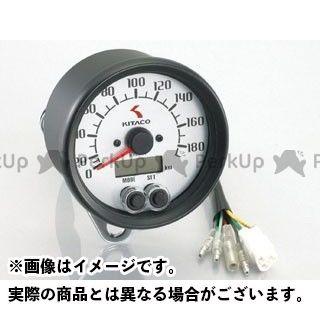 【エントリーでポイント10倍】送料無料 キタコ 汎用 スピードメーター 電気式スピードメーター φ80