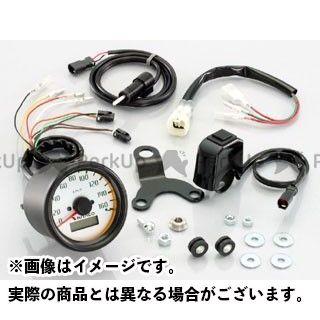 【エントリーで最大P23倍】KITACO ズーマー スピードメーター φ60 電気式スピードメーターキット キタコ