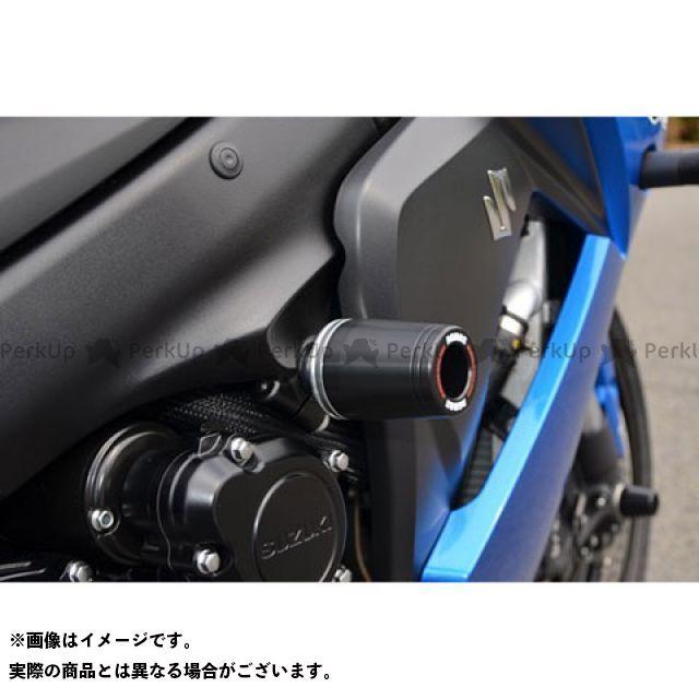AGRAS GSX-S1000 GSX-S1000F スライダー類 レーシングスライダー フレームφ50 ジュラコン/ブラック ロゴ有