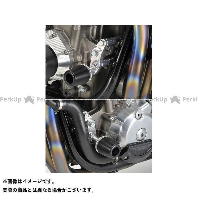 AGRAS CB1300スーパーフォア(CB1300SF) スライダー類 レーシングスライダー エンジンハンガー カラー:ジュラコン/ホワイト タイプ:ロゴ無 アグラス