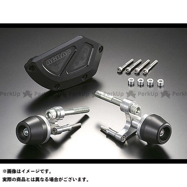 AGRAS CBR1000RRファイヤーブレード スライダー類 レーシングスライダー 3点セット ジェネレータ カラー:ジュラコン/ホワイト タイプ:ロゴ有 アグラス