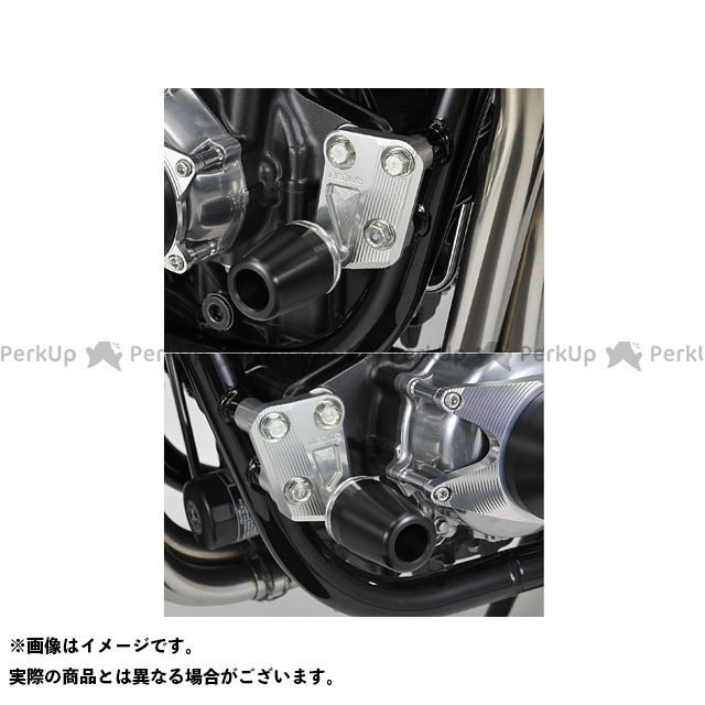AGRAS CB1100 スライダー類 レーシングスライダー エンジンハンガー カラー:ジュラコン/ホワイト タイプ:ロゴ無 アグラス