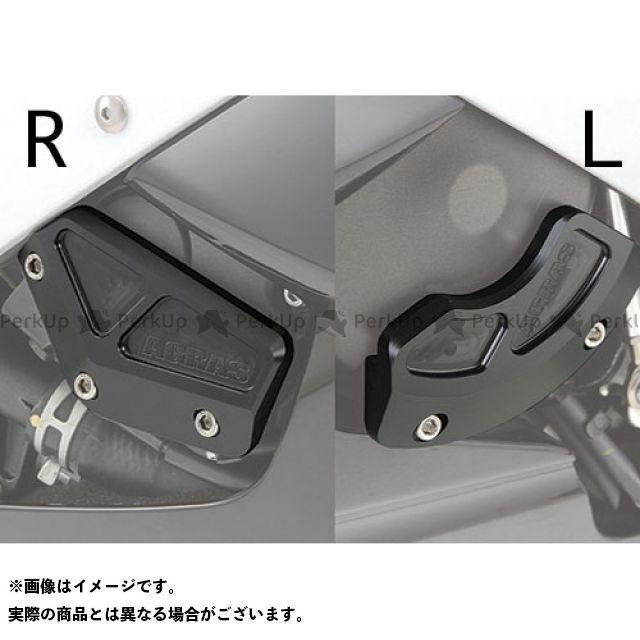 AGRAS YZF-R6 スライダー類 レーシングスライダー ケースカバーSET カラー:ブラック アグラス