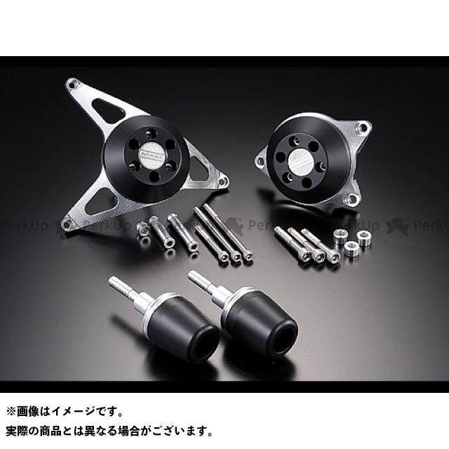 AGRAS FZ1(FZ1-N) スライダー類 レーシングスライダー 4点SET カラー:ジュラコン/ブラック タイプ:ロゴ無 アグラス