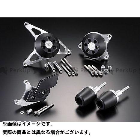 AGRAS FZ1(FZ1-N) FZ1フェザー(FZ-1S) スライダー類 レーシングスライダー 5点SET カラー:ジュラコン/ブラック タイプ:ロゴ有 アグラス