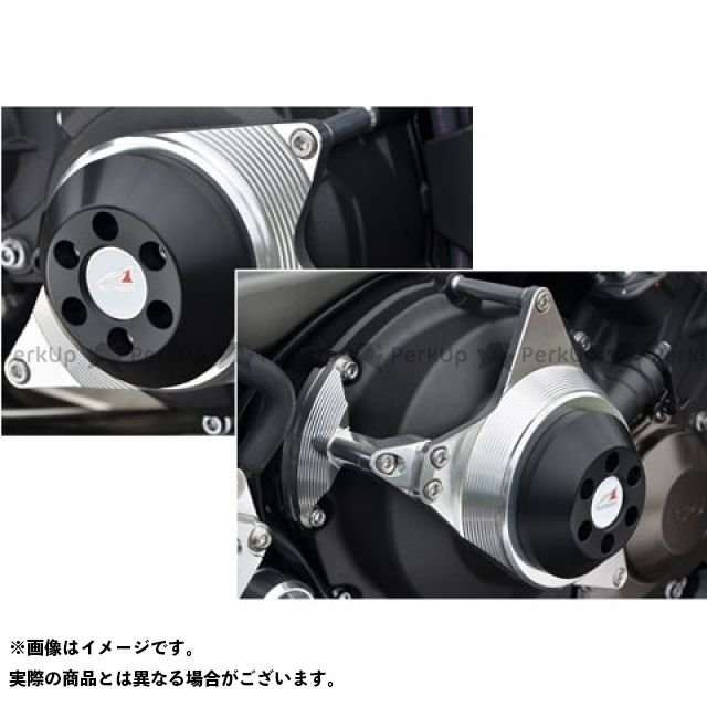AGRAS MT-09 スライダー類 レーシングスライダー 2点セット カラー:ジュラコン/ホワイト アグラス
