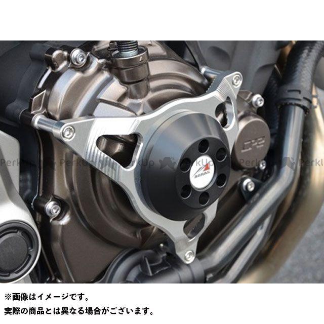 AGRAS MT-07 スライダー類 レーシングスライダー クラッチ カラー:ジュラコン/ブラック アグラス