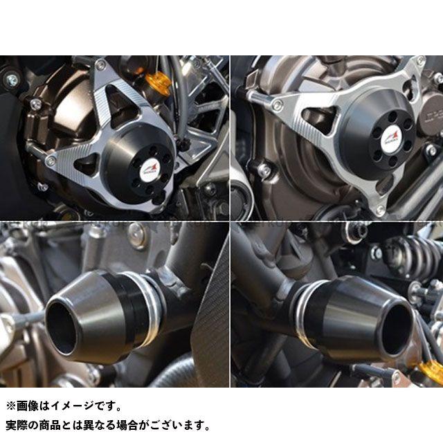 【エントリーで更にP5倍】AGRAS MT-07 スライダー類 レーシングスライダー 4点セット フレームφ60 カラー:ジュラコン/ホワイト アグラス