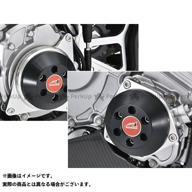 AGRAS YZF-R1 YZF-R1M スライダー類 レーシングスライダー 2点セット ジェネレーター+クランク カラー:ジュラコン/ホワイト アグラス
