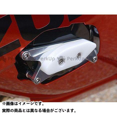 【エントリーで最大P21倍】AGRAS GSX-R1000 スライダー類 レーシングスライダー ジェネレータータイプ カラー:ジュラコン/ホワイト アグラス