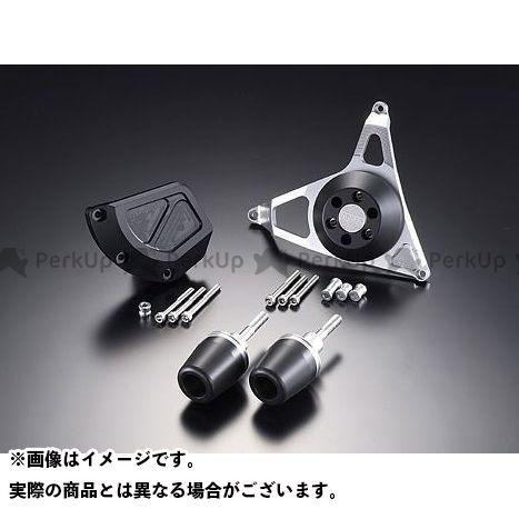 AGRAS GSX-R1000 スライダー類 レーシングスライダー 4点SET B ジュラコン/ブラック ロゴ無 アグラス