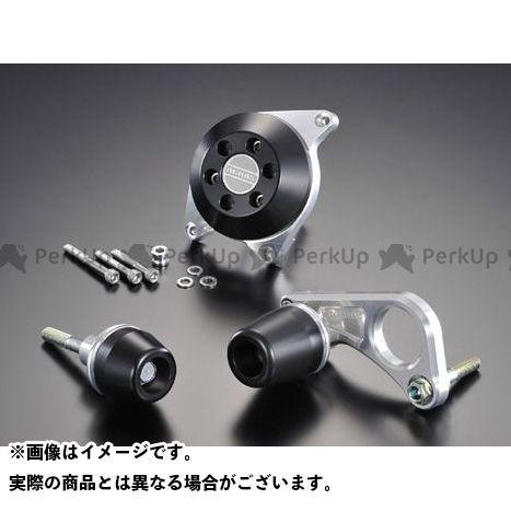AGRAS GSX-R600 スライダー類 レーシングスライダー 3点SET クラッチ ジュラコン/ブラック ロゴ無 アグラス