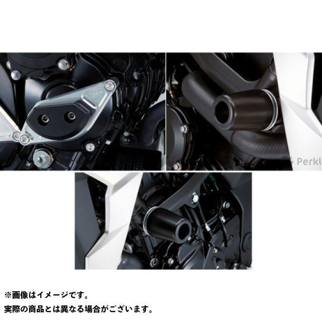 AGRAS GSR750 スライダー類 レーシングスライダー 3点SET フレームφ50+スターターA ジュラコン/ホワイト ロゴ有 アグラス