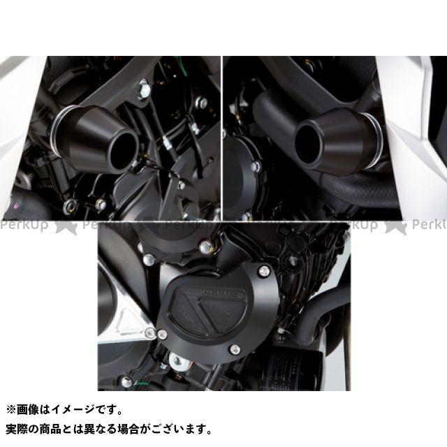 AGRAS GSR750 スライダー類 レーシングスライダー 3点SET フレームφ60+スターターB カラー:ジュラコン/ブラック アグラス