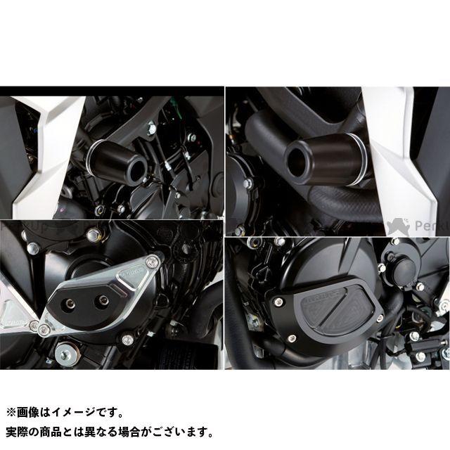 【エントリーで最大P21倍】AGRAS GSR750 スライダー類 レーシングスライダー 4点SET フレームφ50+スターターA+ジェネレーターB カラー:ジュラコン/ブラック タイプ:ロゴ無 アグラス