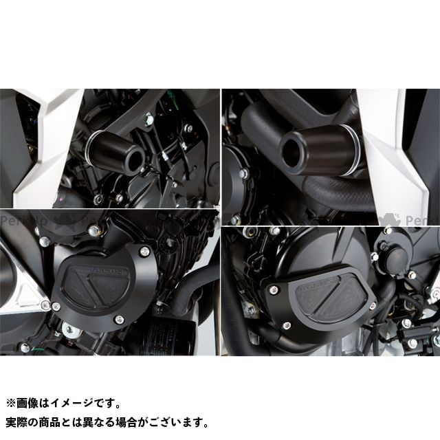 AGRAS GSR750 スライダー類 レーシングスライダー 4点SET フレームφ50+スターターB+ジェネレーターB ジュラコン/ホワイト ロゴ有 アグラス