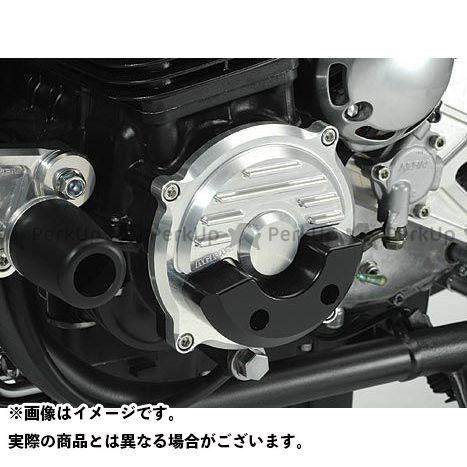 AGRAS ゼファー1100 スライダー類 レーシングスライダー クランクカバー カラー:ジュラコン/ホワイト アグラス