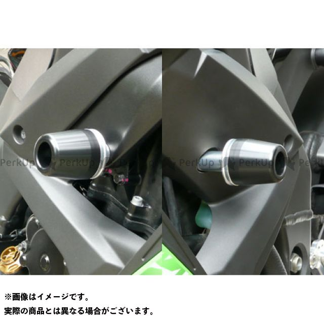 AGRAS ニンジャZX-10R スライダー類 レーシングスライダー フレーム カラー:ジュラコン/ブラック タイプ:ロゴ無 アグラス