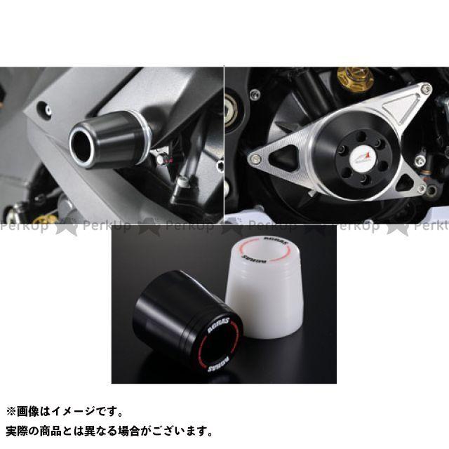 AGRAS ニンジャZX-10R スライダー類 レーシングスライダー 3点SET クラッチ ジュラコン/ブラック ロゴ有 アグラス