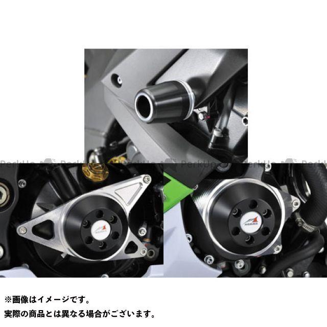 AGRAS ニンジャZX-10R スライダー類 レーシングスライダー 4点SET C ジュラコン/ホワイト ロゴ無 アグラス