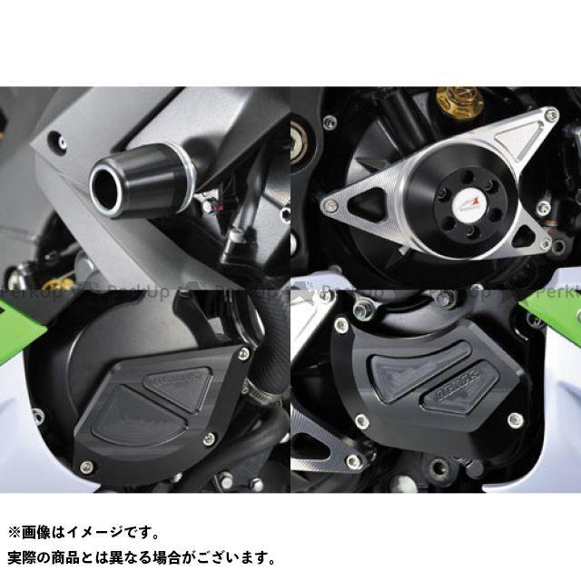 【エントリーで更にP5倍】AGRAS ニンジャZX-10R スライダー類 レーシングスライダー 5点SET B カラー:ジュラコン/ブラック タイプ:ロゴ無 アグラス