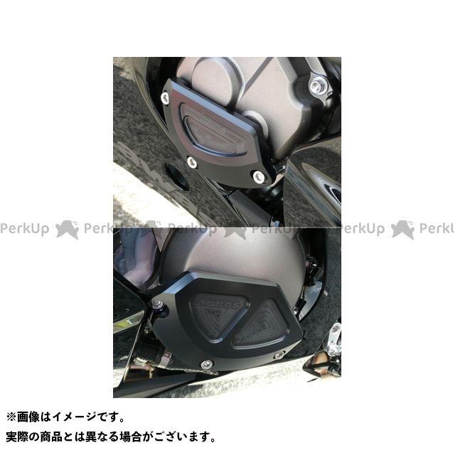 AGRAS ニンジャZX-10R スライダー類 レーシングスライダー 2点SET B ジュラコン/ブラック