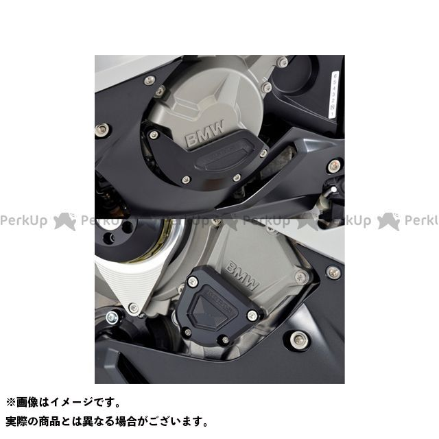 AGRAS S1000RR スライダー類 レーシングスライダー 2点SET ジェネレーターB+クランクB カラー:ジュラコン/ホワイト アグラス