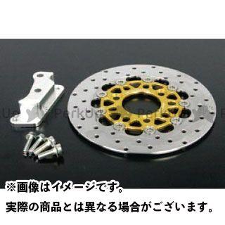 TAKEGAWA ディスク φ220ディスクローター&ブラケットKIT(brembo/4Pキャリパー) SP武川