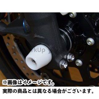 AGRAS CBR1000RRファイヤーブレード その他サスペンションパーツ フロントアクスルプロテクター コーンタイプ 仕様:アルミ カラー:ブルー アグラス