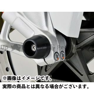 AGRAS S1000RR その他サスペンションパーツ フロントアクスルプロテクター 仕様:アルミ カラー:レッド アグラス