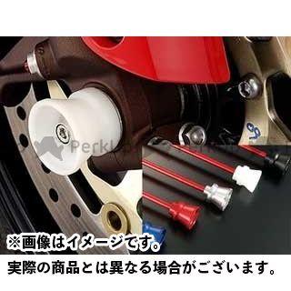 AGRAS CBR1000RRファイヤーブレード CBR954RRファイヤーブレード その他サスペンションパーツ フロントアクスルプロテクター ファンネルタイプ 仕様:アルミ カラー:レッド アグラス