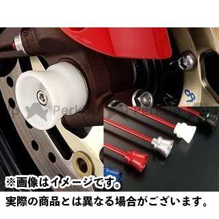 AGRAS CBR1000RRファイヤーブレード CBR954RRファイヤーブレード その他サスペンションパーツ フロントアクスルプロテクター ファンネルタイプ 仕様:アルミ カラー:シルバー アグラス