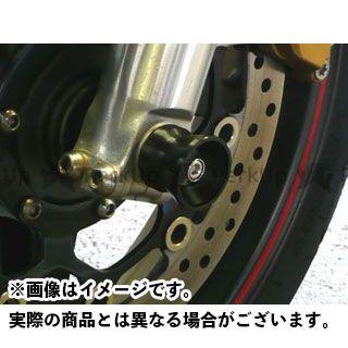 AGRAS CB1300スーパーフォア(CB1300SF) その他サスペンションパーツ アクスルプロテクター 仕様:アルミ カラー:ブルー アグラス