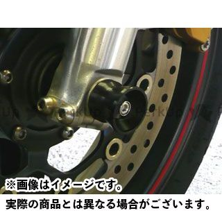 AGRAS CB1300スーパーフォア(CB1300SF) その他サスペンションパーツ アクスルプロテクター 仕様:ジュラコン カラー:ブラック アグラス