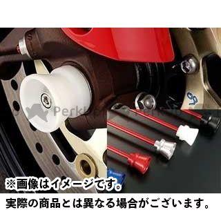 AGRAS CBR1000RRファイヤーブレード その他サスペンションパーツ フロントアクスルプロテクター ファンネルタイプ 仕様:アルミ カラー:レッド アグラス