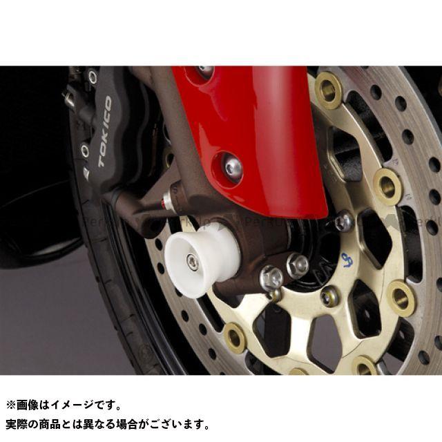 AGRAS CBR600RR その他サスペンションパーツ フロントアクスルプロテクター ファンネル 仕様:アルミ カラー:シルバー アグラス