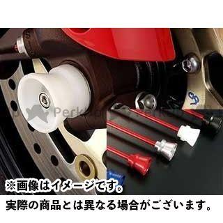 AGRAS GSX-R1000 その他サスペンションパーツ フロントアクスルプロテクター ファンネルタイプ 仕様:アルミ カラー:シルバー アグラス