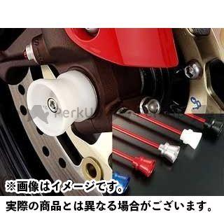 AGRAS バンディット1250 バンディット1250F その他サスペンションパーツ フロントアクスルプロテクター ファンネルタイプ 仕様:ジュラコン カラー:ブラック アグラス