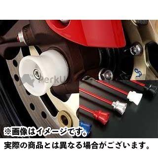 AGRAS ニンジャZX-12R その他サスペンションパーツ フロントアクスルプロテクター ファンネルタイプ 仕様:アルミ カラー:シルバー アグラス