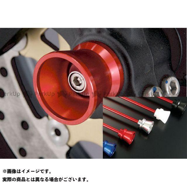AGRAS ニンジャZX-10R その他サスペンションパーツ フロントアクスルプロテクター ファンネルタイプ 仕様:アルミ カラー:レッド アグラス
