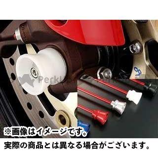 AGRAS モンスターS4 その他サスペンションパーツ フロントアクスルプロテクター ファンネルタイプ 仕様:アルミ カラー:レッド アグラス