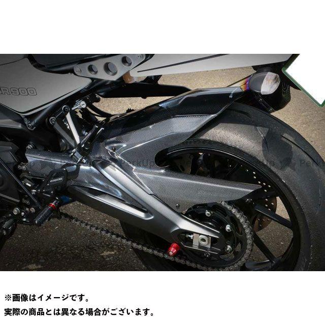 STRIKER MT-09 フェンダー ストライカーエアロデザイン「SAD」 リヤフェンダー 仕様:黒ゲルコート ストライカー