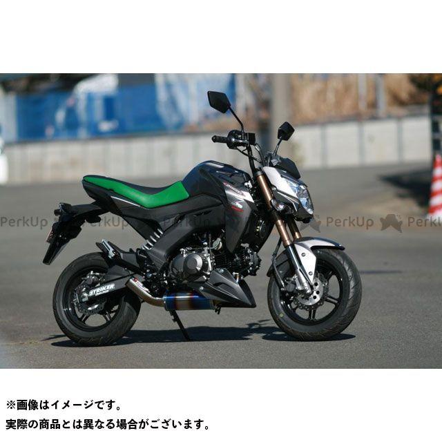 STRIKER Z125プロ マフラー本体 パワーミニ フルエキゾースト 政府認証/JMCA認定モデル ストライカー