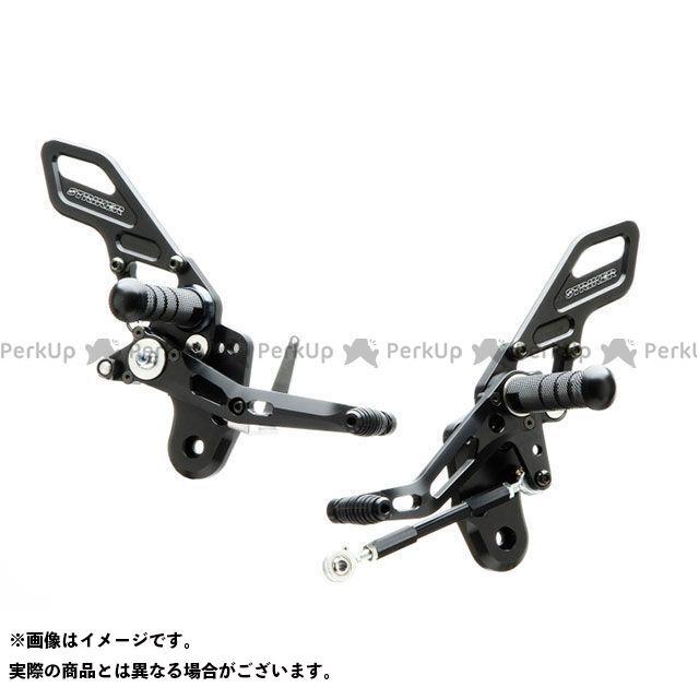 STRIKER Z125プロ バックステップ関連パーツ スペシャルステップキット(ブラック) ストライカー