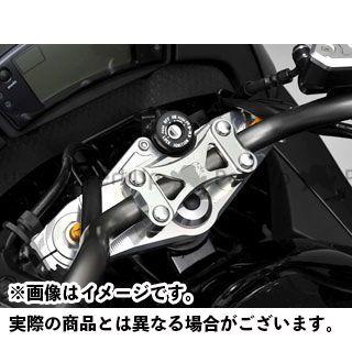 AGRAS ニンジャ400R トップブリッジ関連パーツ トップブリッジ ハンドルアッパーブラケット無し アグラス